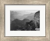 View, looking down, Grand Canyon National Park, Arizona, 1933 Fine-Art Print