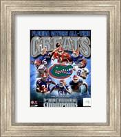 University of Florida Gators All Time Greats Composite Fine-Art Print
