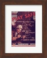 Play Safe Fine-Art Print