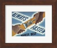 Always Fasten Your Safety Belt Fine-Art Print