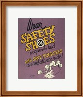 Safety Shoes Fine-Art Print