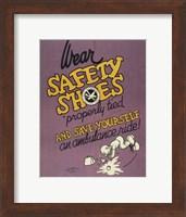 Safety Shoes Fine-Art Print