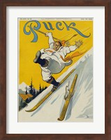 The lost ski Fine-Art Print