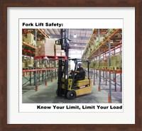 Fork Lift Safety Fine-Art Print