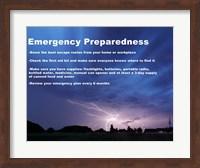 Emergency Preparedness Fine-Art Print