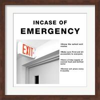 In Case Of Emergency Fine-Art Print