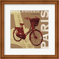 Cycling in Paris Fine-Art Print