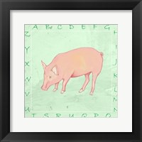 Pig Alphabet Fine-Art Print