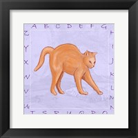 Cat Alphabet Fine-Art Print