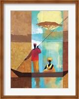 On the River I Fine-Art Print