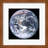 The Earth seen from Apollo 17 Fine-Art Print