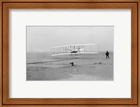 First Successful Flight of the Wright Flyer Fine-Art Print