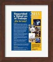 OSHA Job Safety and Health Spanish Version 2012 Fine-Art Print