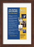 OSHA Job Safety and Health Version 2012 Fine-Art Print