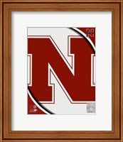 University of Nebraska Cornhuskers Team Logo Fine-Art Print