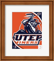 University of Texas El Paso Miners Team Logo Fine-Art Print