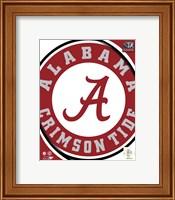 University of Alabama Crimson Tide Team Logo Fine-Art Print