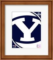 Brigham Young University Cougars Team Logo Fine-Art Print