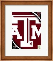 Texas A&M University Aggies Team Logo Fine-Art Print