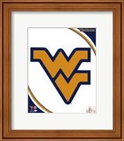 West Virginia University Mountaineers Team Logo Fine-Art Print