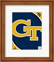 Georgia Tech Yellow Jackets Team Logo Fine-Art Print