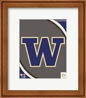 University of Washington Huskies Team Logo Fine-Art Print