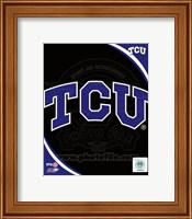 Texas Christian University Horned Frogs Team Logo Fine-Art Print