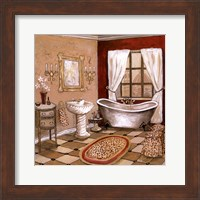 Leopard Florentine Bath Fine-Art Print
