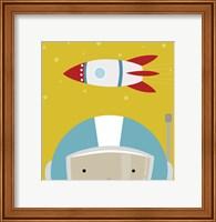 Peek-A-Boo Astronaut Fine-Art Print