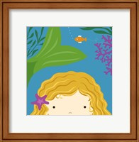 Peek-A-Boo Mermaid Fine-Art Print