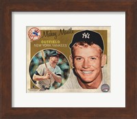 Mickey Mantle 2012 Studio Plus Fine-Art Print