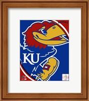 University of Kansas Jayhawks Team Logo Fine-Art Print