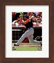 Giancarlo Stanton 2012 batting Fine-Art Print