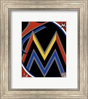 Miami Marlins 2012 Team Logo Fine-Art Print
