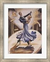 Dancers I (Blue) Fine-Art Print