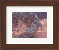Angel at Rest - foil Fine-Art Print