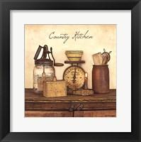 Country Kitchen - square Fine-Art Print