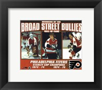 Broad Street Bullies- Bernie Parent, Bobby Clarke, & Bill Barber Fine-Art Print