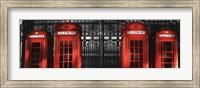 Red Telephone Boxes, London Fine-Art Print