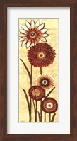 Happy Flowers Neutral Panel II Fine-Art Print
