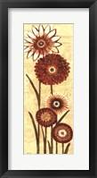 Happy Flowers Neutral Panel II Fine-Art Print