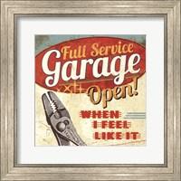 Mancave I - Full Service Garage Fine-Art Print