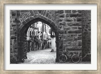 Bicycle of Riquewihr Fine-Art Print