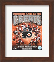 Philadelphia Flyers All-Time Greats Composite Fine-Art Print