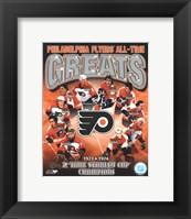 Philadelphia Flyers All-Time Greats Composite Fine-Art Print