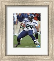 Marshawn Lynch 2012 Action Fine-Art Print