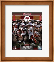 Tampa Bay Buccaneers 2012 Team Composite Fine-Art Print