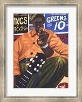 Mustard Green Blues Fine-Art Print