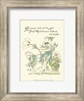 Shakespeare's Garden I (Anemone) Fine-Art Print