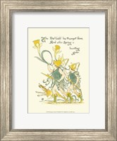 Shakespeare's Garden IV (Daffodil) Fine-Art Print